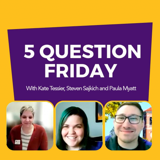 #FiveQuestionFriday with Residence Life Coordinators Kate Tessier, Steven Sajkich and Paula Myatt