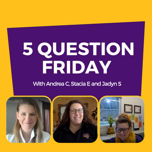 5 Question Friday with Andrea Greve Coello, Stacia Eggers and Jadyn Spencer