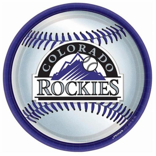 Colorado Rockies with Baseball