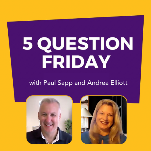 5 Question Friday with Paul Sapp and Andrea Elliott