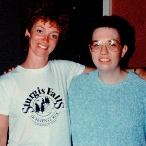 Carolina Wilson and Janet MacTaggart