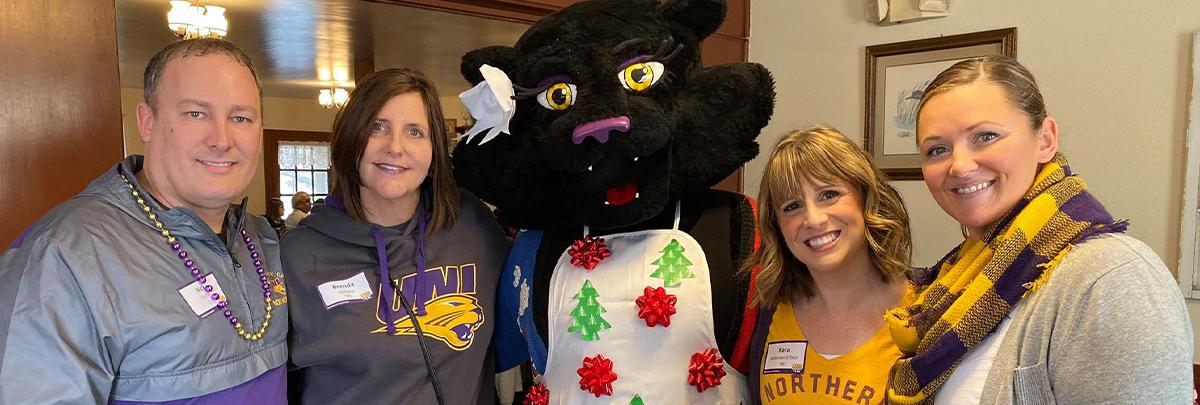 Cedar Rapids-Iowa City club members at event