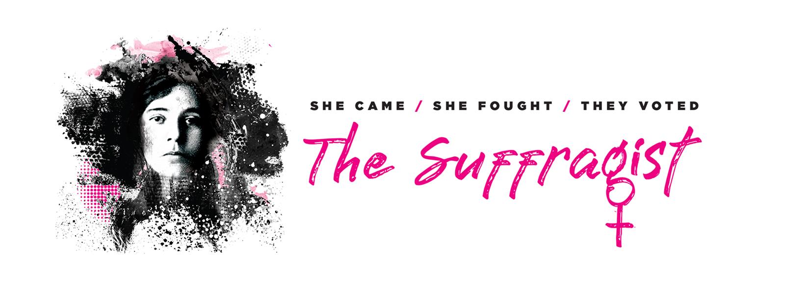 The Suffragist Musical logo