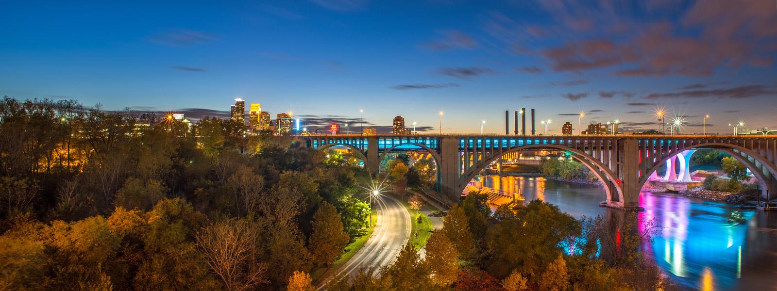 Twin Cities skyline
