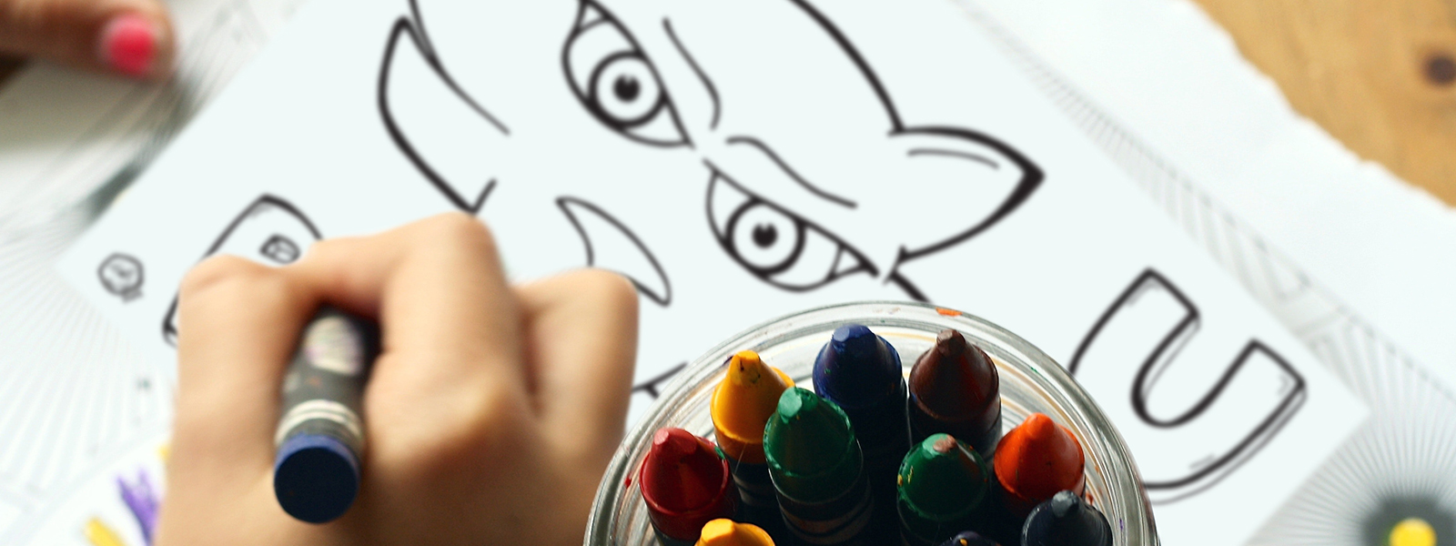 Kid coloring TC coloring page