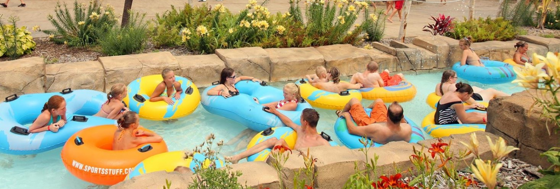 Lost Island Waterpark Lazy River