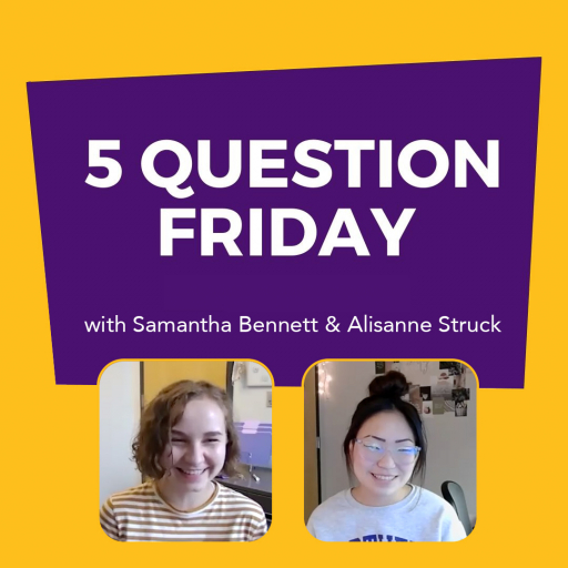 #FiveQuestionFriday with NISG President Samantha Bennett and NISG Vice President Alisanne Struck