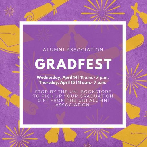 Join us for GradFest!