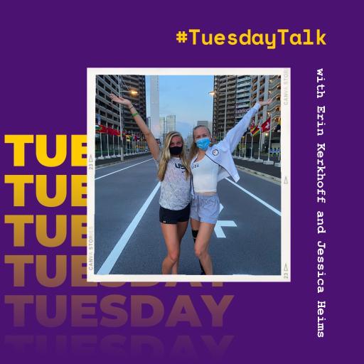 #TuesdayTalk with Erin Kerkhoff and Jessica Heims
