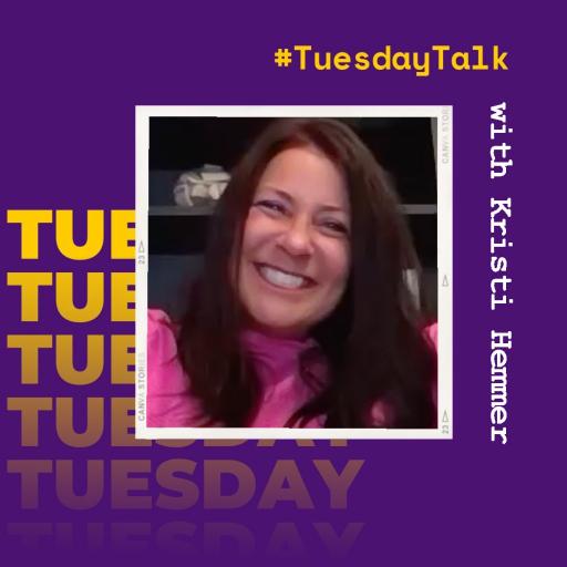 #TuesdayTalk with '91 Alum Kristi Hemmer, Social Entrepreneur and Author